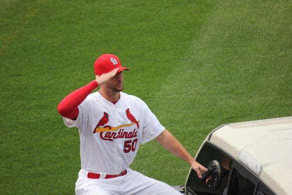 Wainwright salutes