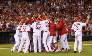That's a clinching winner! (Photo: St. Louis Post-Dispatch)