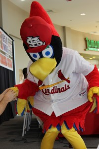 What visit wouldn't be complete without Fredbird!
