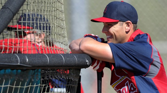 MLB: St Louis Cardinals-Workout