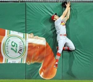 Bourjos catch