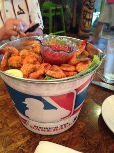 Jumby Bucket of shrimpIMG_2933